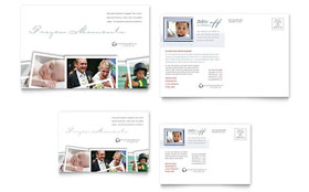 Photographer - Postcard Template Design Sample