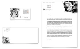 Photographer - Business Card & Letterhead Template Design Sample