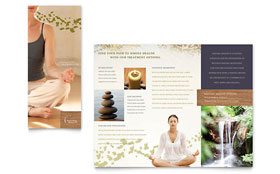 Naturopathic Medicine - Business Marketing Brochure Template