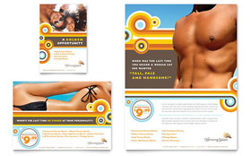 Tanning Salon - Flyer & Ad Template