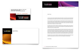 Makeup Artist - Business Card & Letterhead Template Design Sample