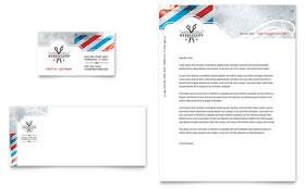 Barbershop - Business Card & Letterhead Template