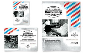 Barbershop - Flyer & Ad Template