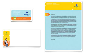 Weight Loss Clinic - Business Card & Letterhead