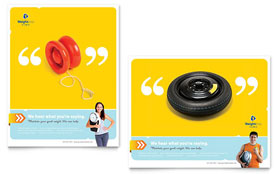 Weight Loss Clinic - Poster Sample Template