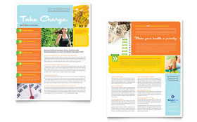Weight Loss Clinic - Sales Sheet Sample Template