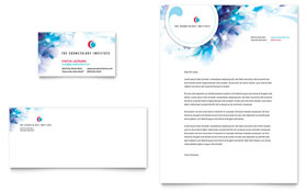 Cosmetology - Business Card & Letterhead Template