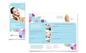 Medical Spa - Apple iWork Pages Brochure Template