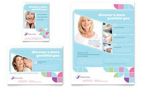 Medical Spa - Leaflet Template