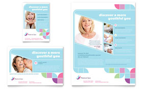 Medical Spa - Print Ad Sample Template
