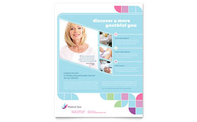 Medical Spa - Flyer Template