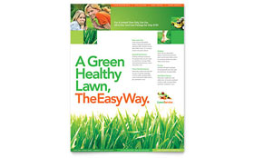 Lawn Maintenance - Leaflet