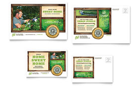 Tree Service - Postcard Sample Template