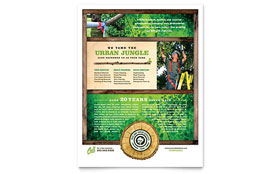 Tree Service - Flyer Template