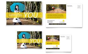 Insurance Agent - Postcard Template