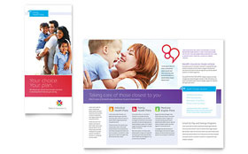 Medical Insurance - Microsoft Word Brochure Template