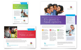 Medical Insurance - Leaflet Template