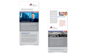 Legal & Government Services - Rack Card Sample Template