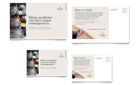 Legal Advocacy - Postcard Sample Template