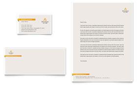 Legal Advocacy - Business Card & Letterhead Template