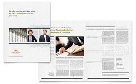 Attorney - Brochure Sample Template