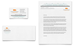 Attorney - Business Card & Letterhead Template