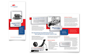 Justice Legal Services - Tri Fold Brochure Sample Template