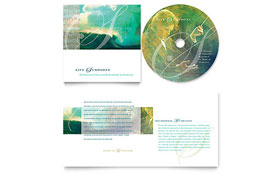 Symphony Orchestra Concert Event - CD Booklet Imprint Sample Template