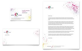 Dance Studio - Business Card & Letterhead Template