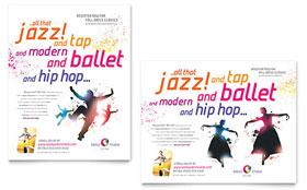 Dance Studio - Poster Template