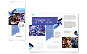 DJ - Microsoft Word Brochure Template
