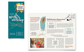 Writer's Workshop - Brochure Template