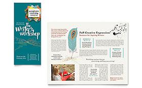 Writer's Workshop - Brochure Template
