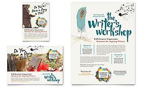Writer's Workshop Flyer & Ad