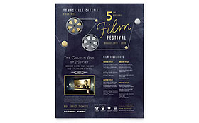 Film Festival - Flyer Template