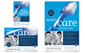 Dentist Office - Print Ad Sample Template