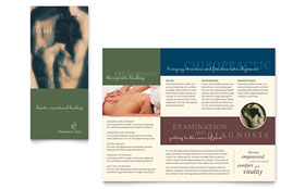 Chiropractor - Brochure Template Design Sample