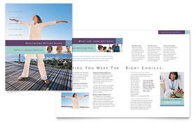 Medical Insurance Company - Graphic Design Brochure Template
