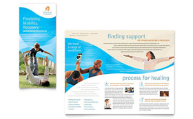 Physical Therapist - QuarkXPress Brochure Template
