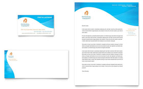 Physical Therapist - Letterhead Template