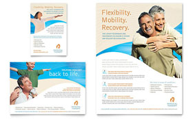 Physical Therapist - Flyer & Ad Template