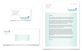 Dental Care - Business Card & Letterhead Template