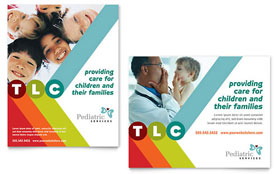 Pediatrician & Child Care - Poster Template