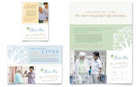 Elder Care & Nursing Home - Flyer & Ad