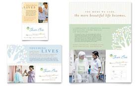 Elder Care & Nursing Home - Flyer & Ad Template