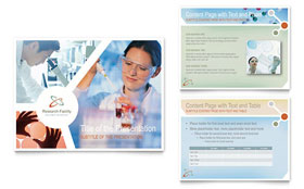 Medical Research - PowerPoint Presentation Template