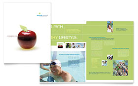 Healthcare Management - Brochure Template Design Sample