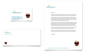 Healthcare Management - Letterhead Template