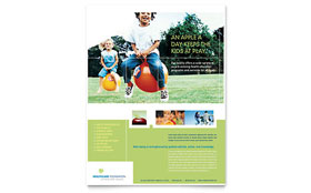Healthcare Management - Leaflet Sample Template