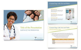 Medical Clinic - PowerPoint Presentation Template Design Sample